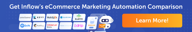 """""""Learn More"""" banner for Inflow's Marketing Automation Systems Comparison Matrix"""